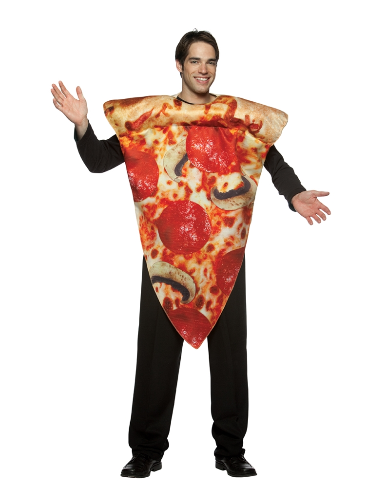 Pizza Slice Adult Mens Costume