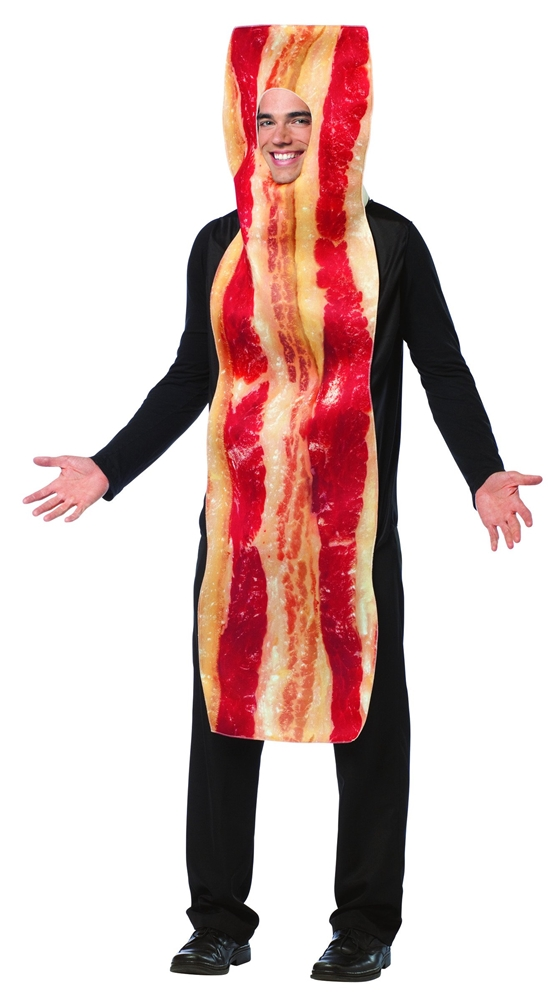 Get Real Bacon Strip Adult Unisex Costume
