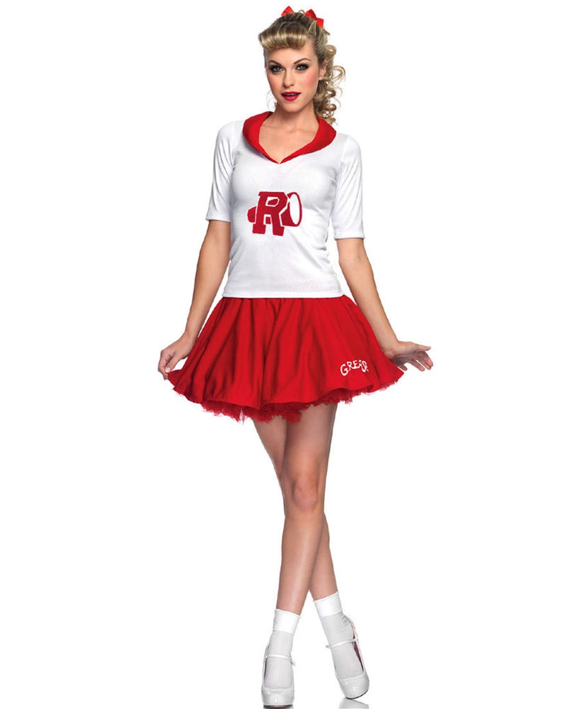 Grease Rydell Cheerleader Adult Womens Costume