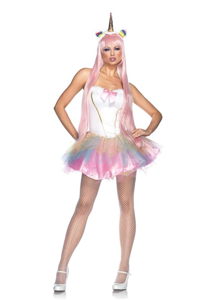 Fantasy Unicorn Adult Womens Sexy Costume (Sexy Fantasy)