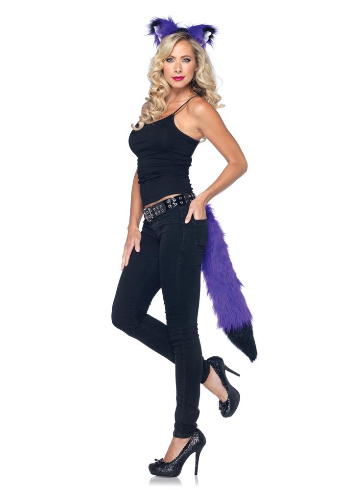 [Rockin Fox Kit Adult Womens Costume] (Fox Costumes Kit)