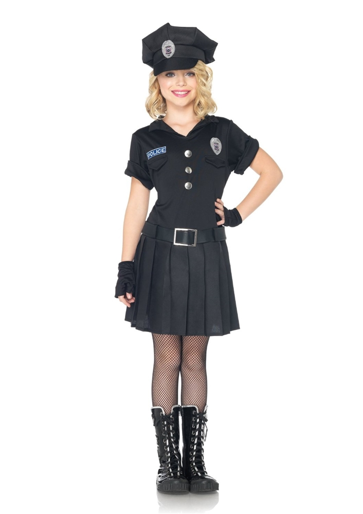 Playtime police child costume - Police officer child costume ...