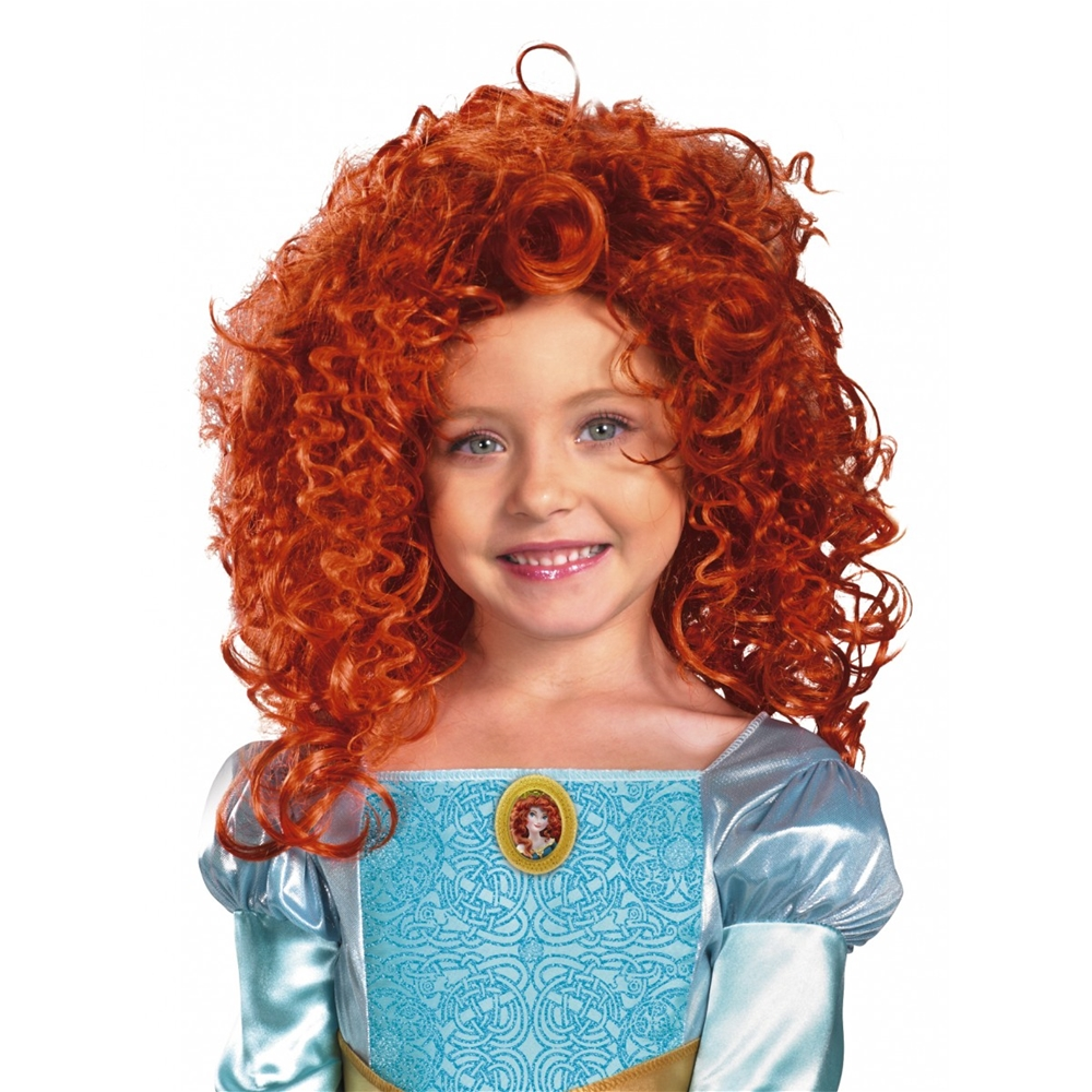 Brave Merida Child Wig