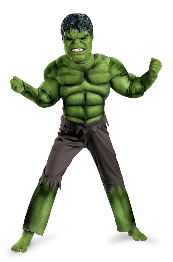 Marvel The Avengers Hulk Muscle Child Costume by Disguise
