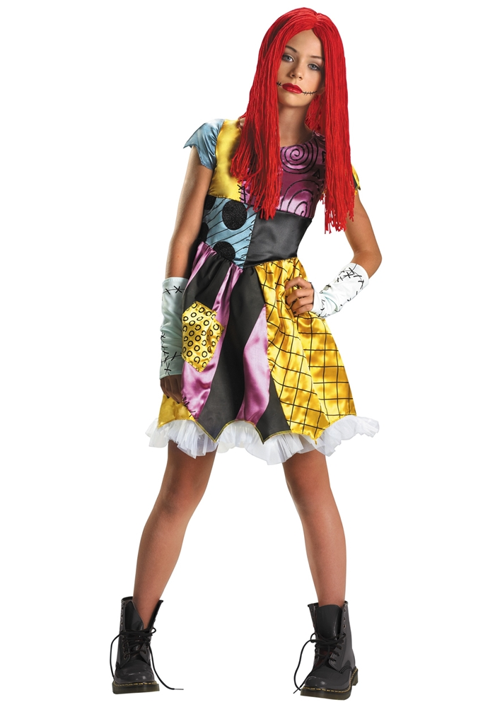 Nightmare Before Christmas Sally Tween Costume - 271621   Trendyhalloween.com