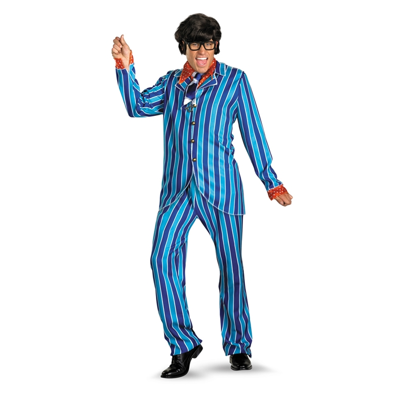 Austin Powers Carnaby Suit Deluxe Adult Mens Costume