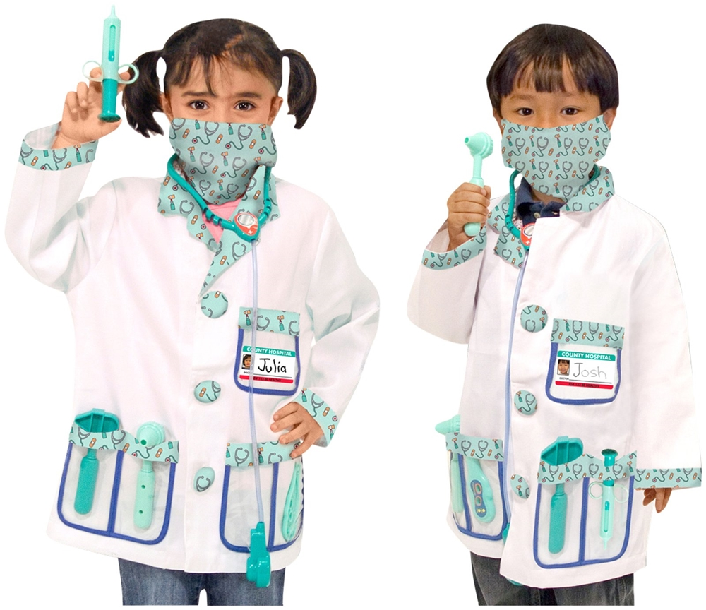 Doctor Role Play Costume Set (Play Costumes)