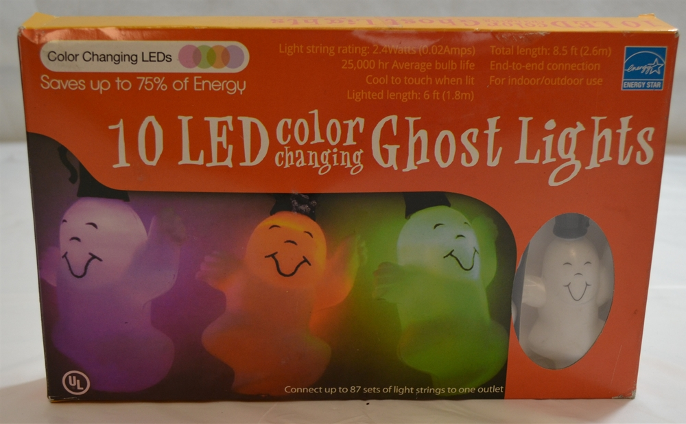 Ghost LED Color Changing Light Set 10ct