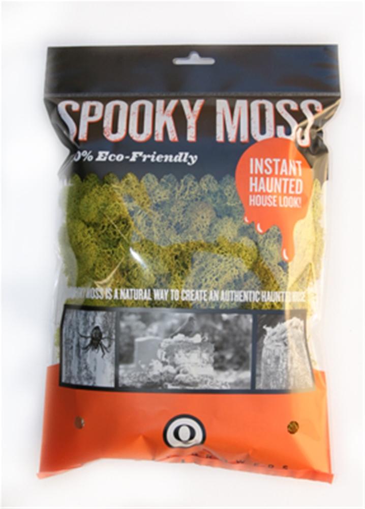 Spooky Chartreuse Reindeer Moss