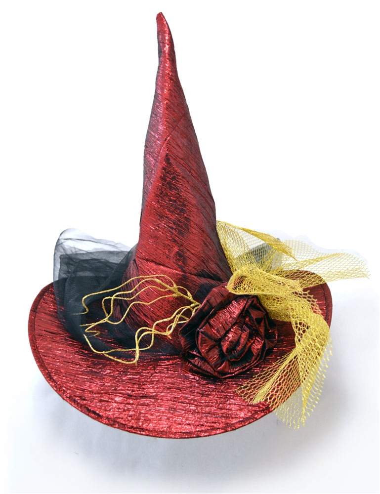 Metallic Witch Hat by Jacobson Hat Co