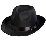 Black-Satin-Fedora-Hat