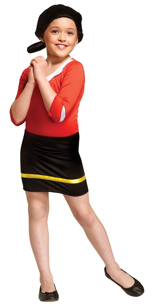 Popeye Olive Oyl Child Costume