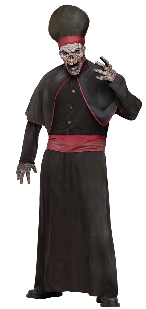 Zombie High Priest Adult Mens Costume
