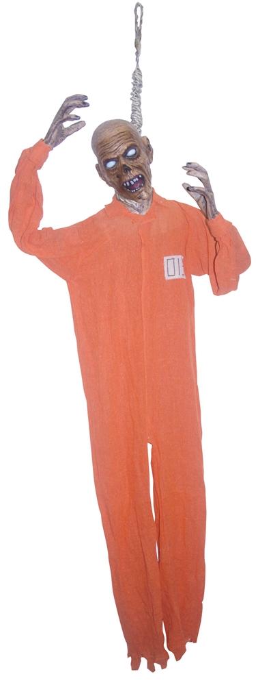 Zombie Noosed Prisoner Hanging Prop 5ft