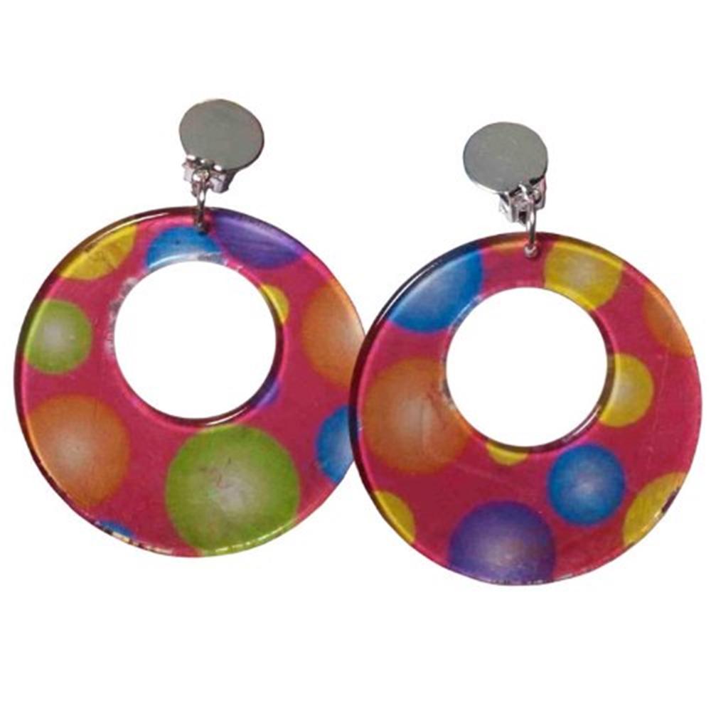 Circus Sweetie Polka Dot Earrings