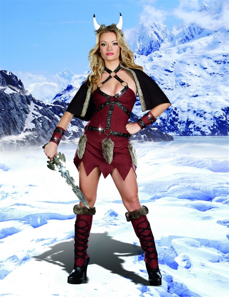 Ms. Viking Warrior Adult Womens Costume
