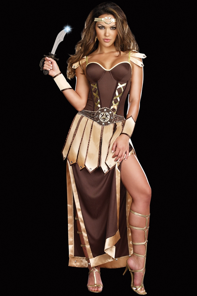 Remember the Trojans Warrior Adult Womens Costume by Dreamgirl