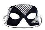 Silver-Black-Edge-Masquerade-Mask