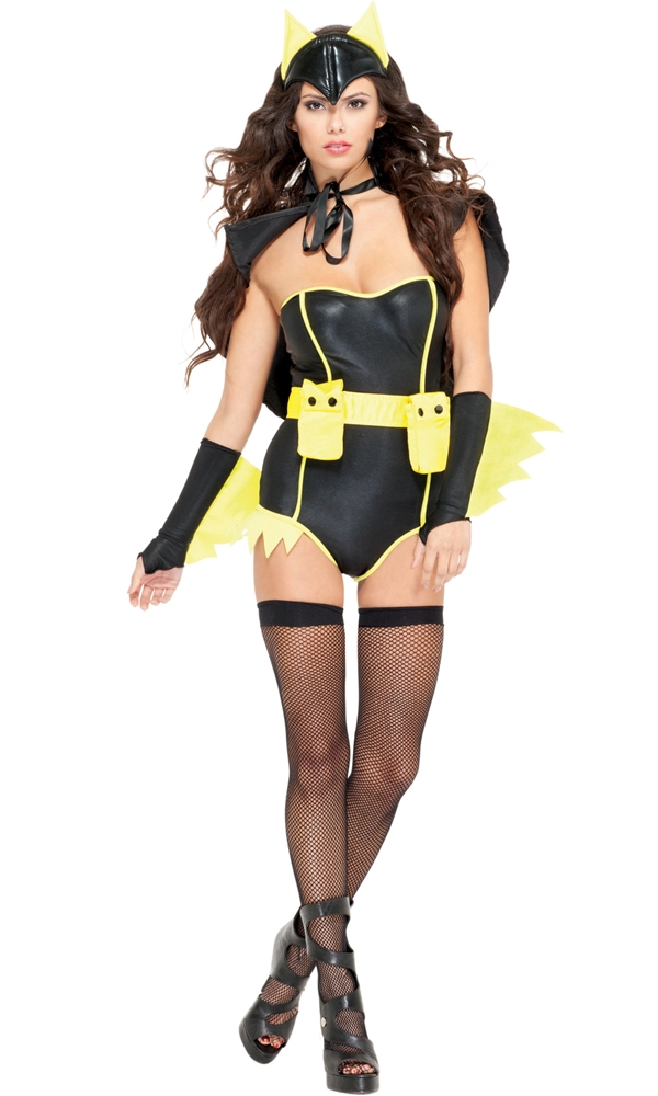 Image of Bat To The Bone Adult Womens Costume
