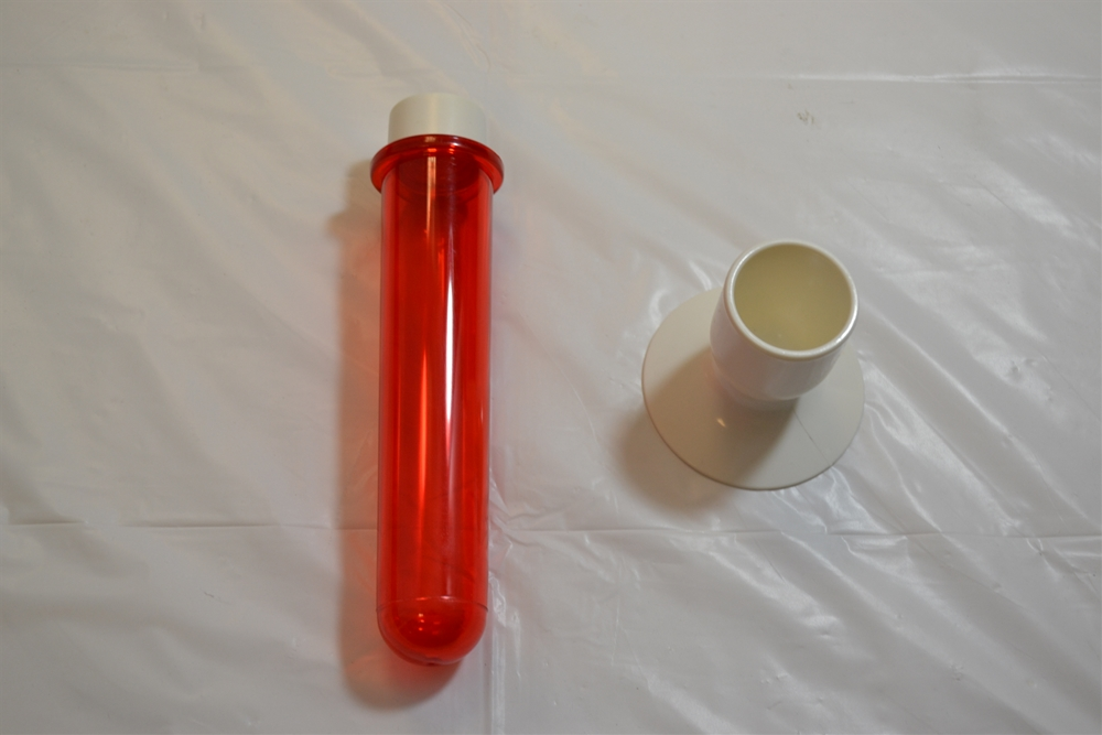 Test Tube Red