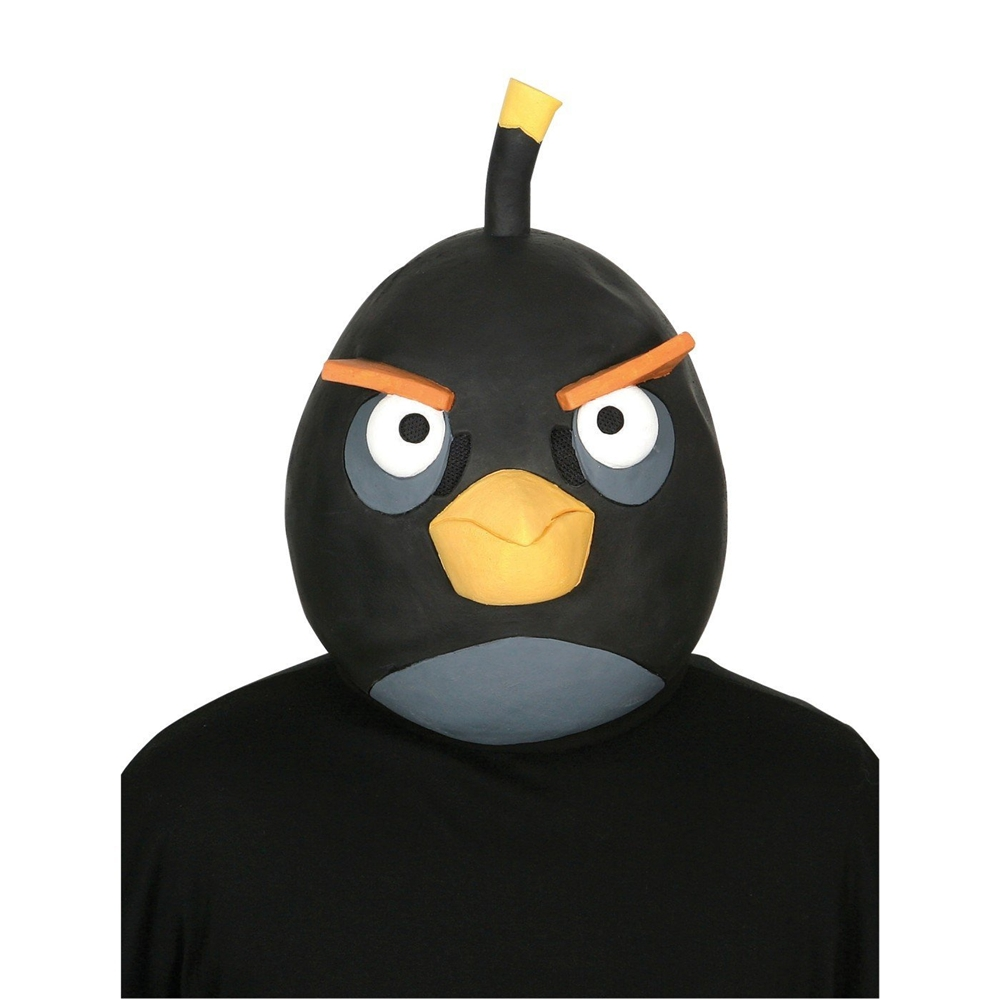 Angry Birds Black Bird Adult Mask