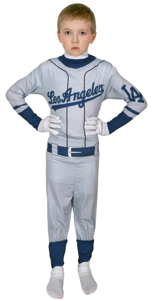 Los Angeles Dodgers Skin Suit Child Costume
