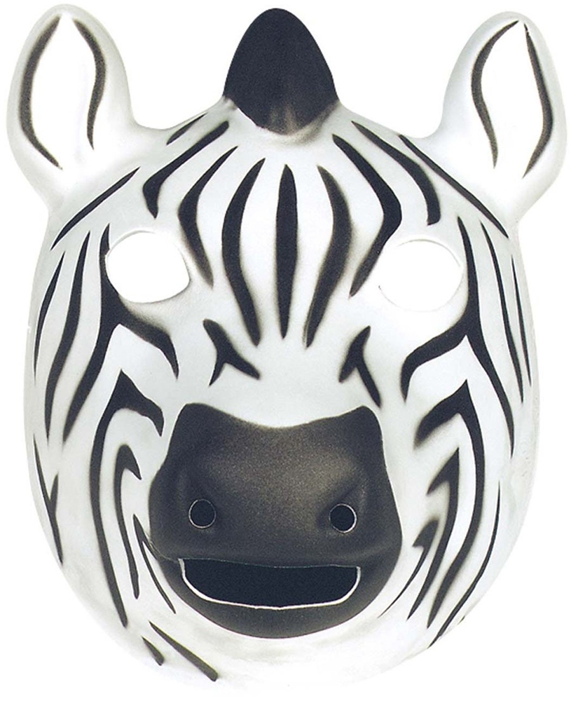 Zebra Foam Mask