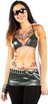 Tattooed-Biker-Adult-Womens-T-Shirt