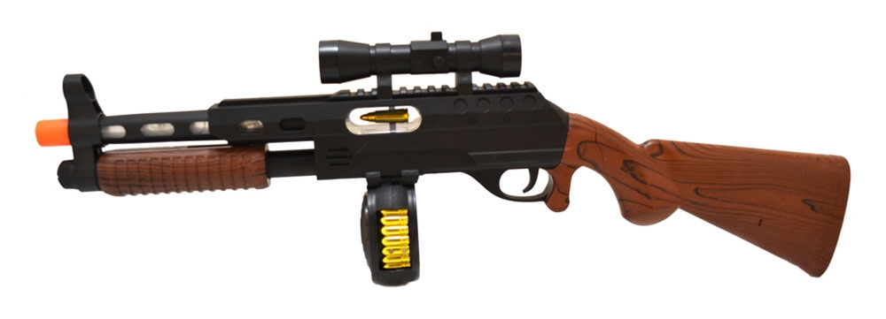 Tommy Gun with Lights & Sound