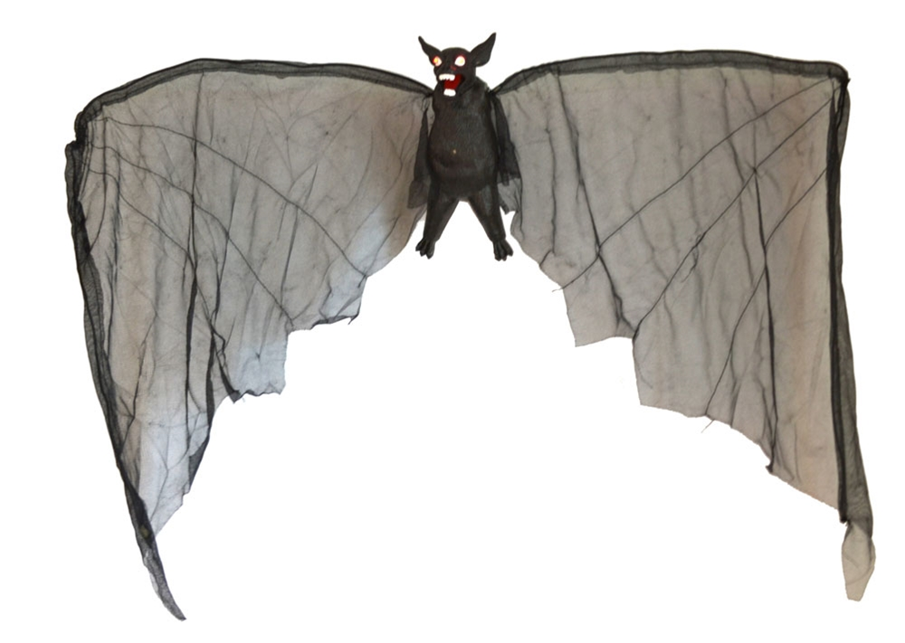 Halloween Dropping Bat with Wings