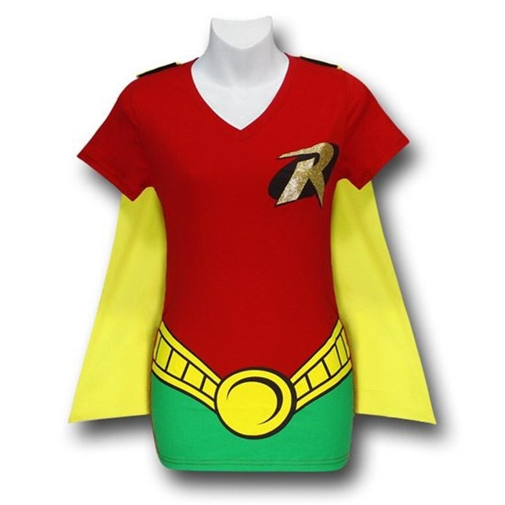 Robin Juniors T-Shirt with Cape