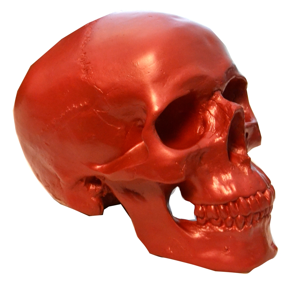 Red Skull Piggy Bank