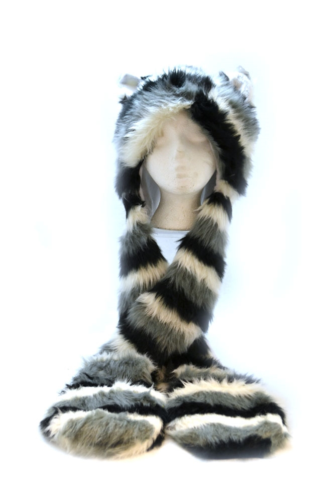 Image of Cat Hat with Scarf
