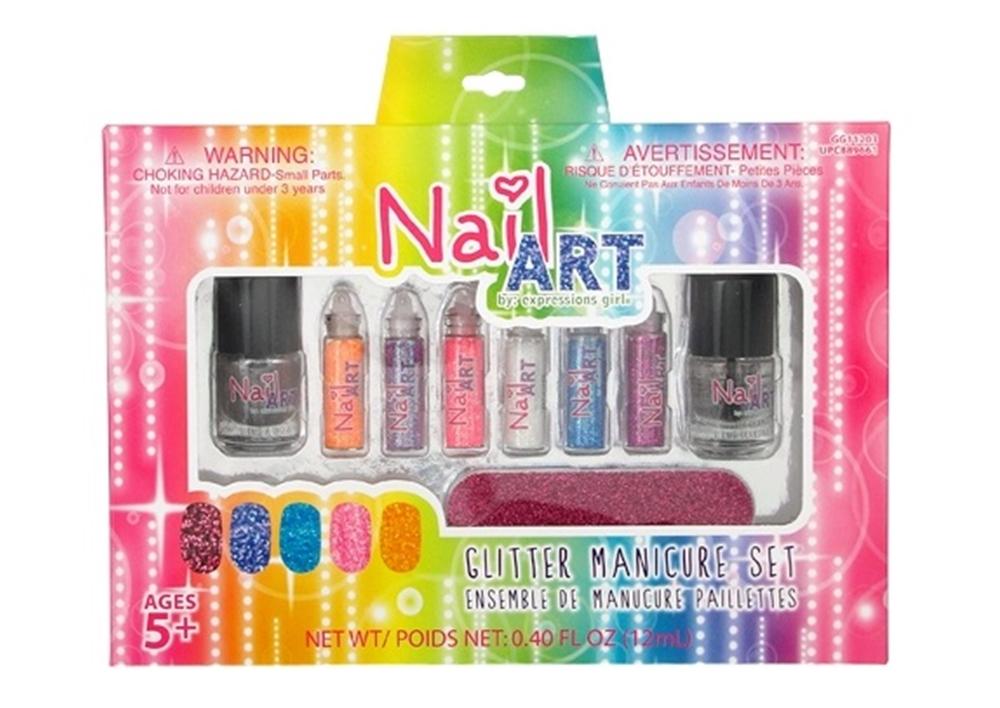 Glitter Manicure Nail