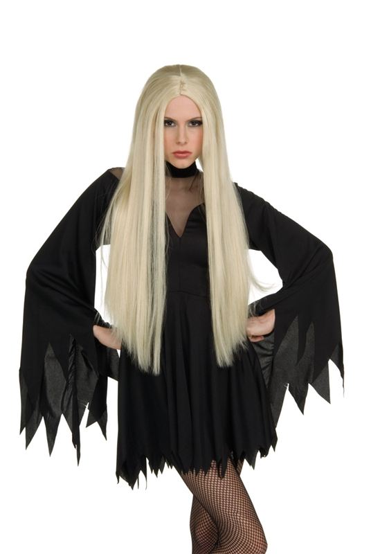 Image of 28 inch Long Blonde Wig