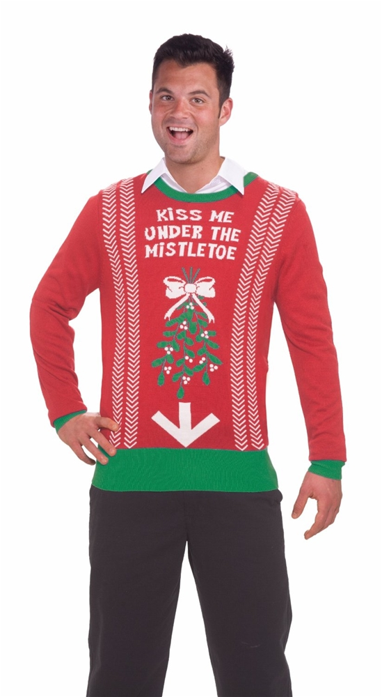 Inappropriate Under the Mistletoe Christmas Sweater - 291746 ...