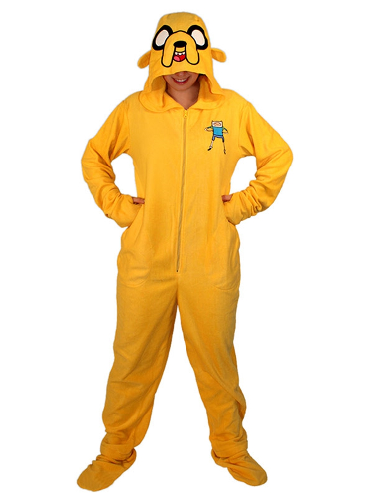 Image of Adventure Time Jake the Dog Onesie