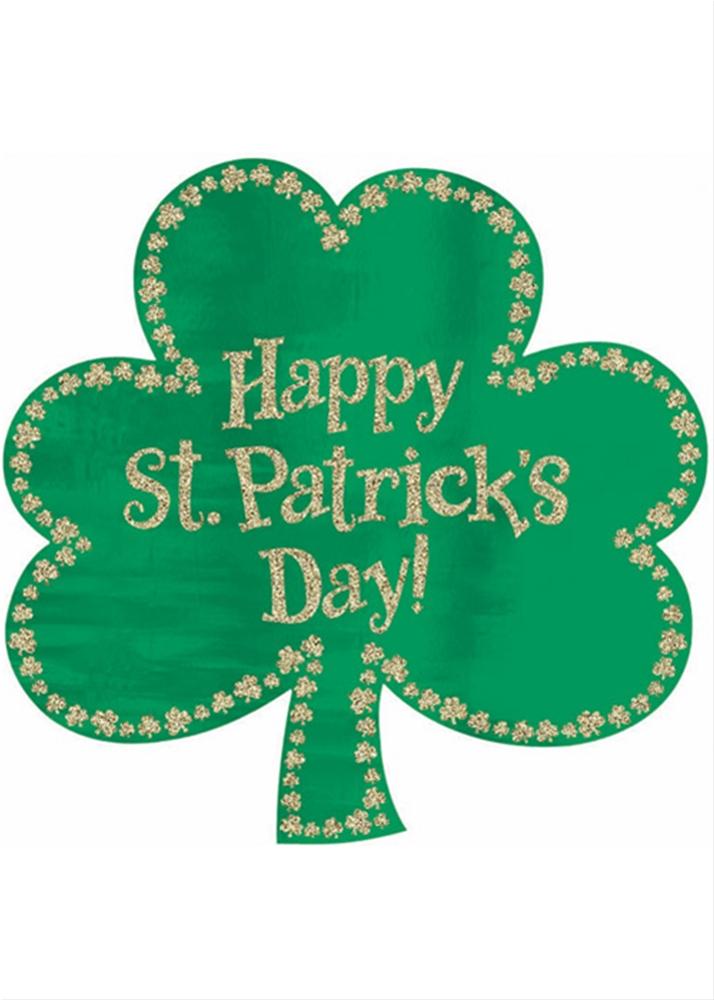 St. Patrick's Day Shamrock Cutout