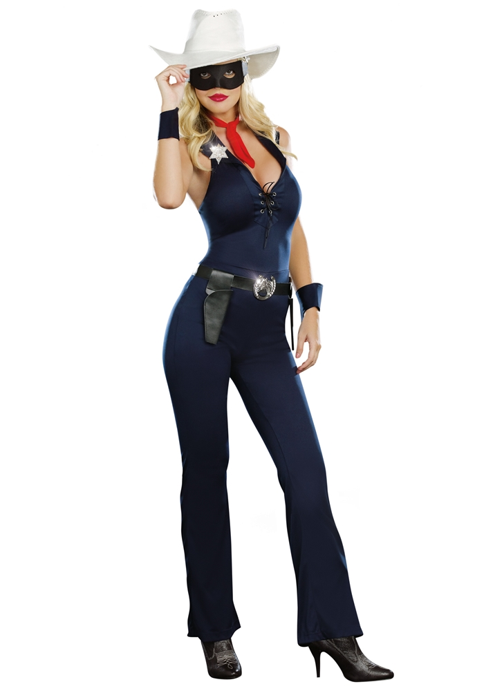 Lone Cowgirl Adult Womens Costume