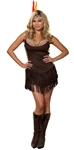 Pocahottie Adult Womens Plus Size Costume