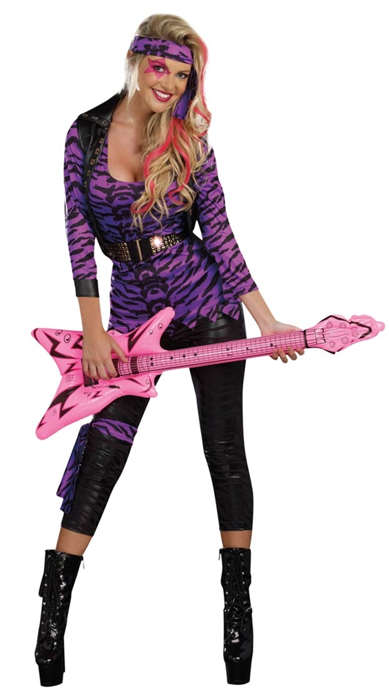 Miss Rockstar Adult Womens Costume