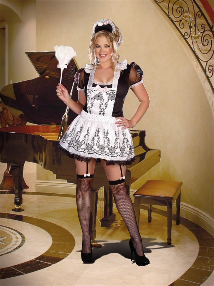 Maid To Order French Sexy Womens Plus Size Costume