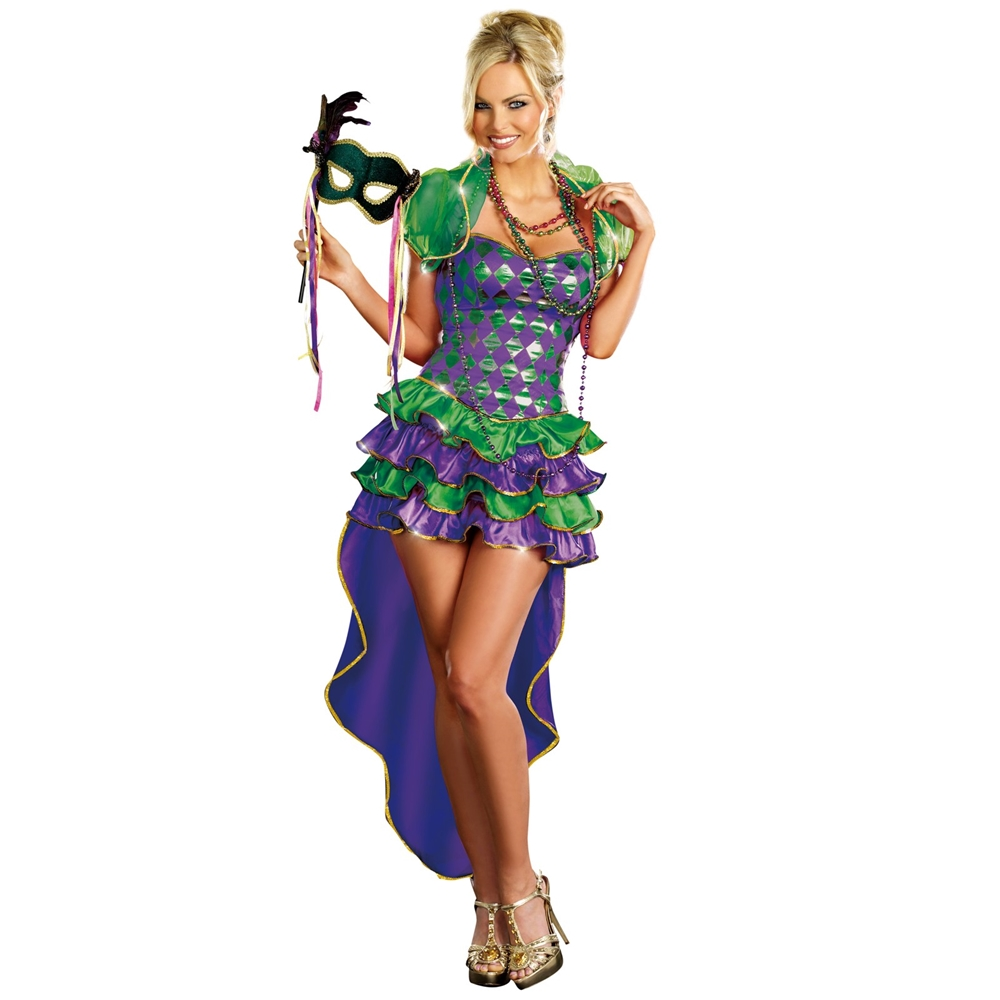 Mardi Gras Maven Adult Womens Costume