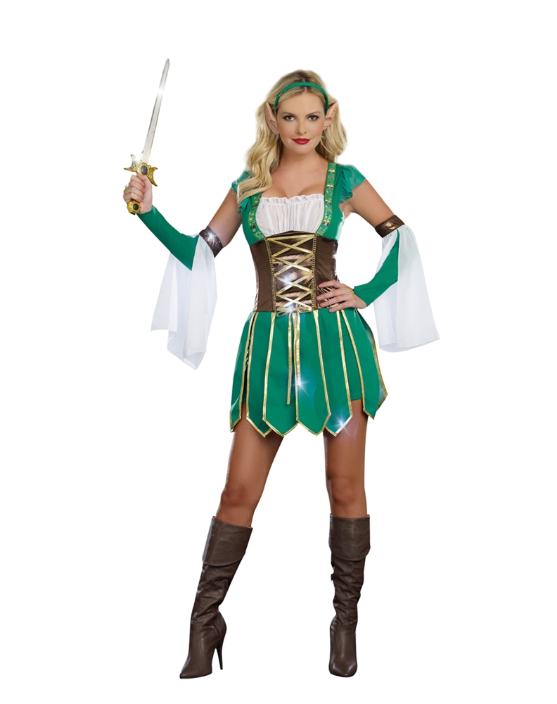 Warrior Elf Adult Womens Costume