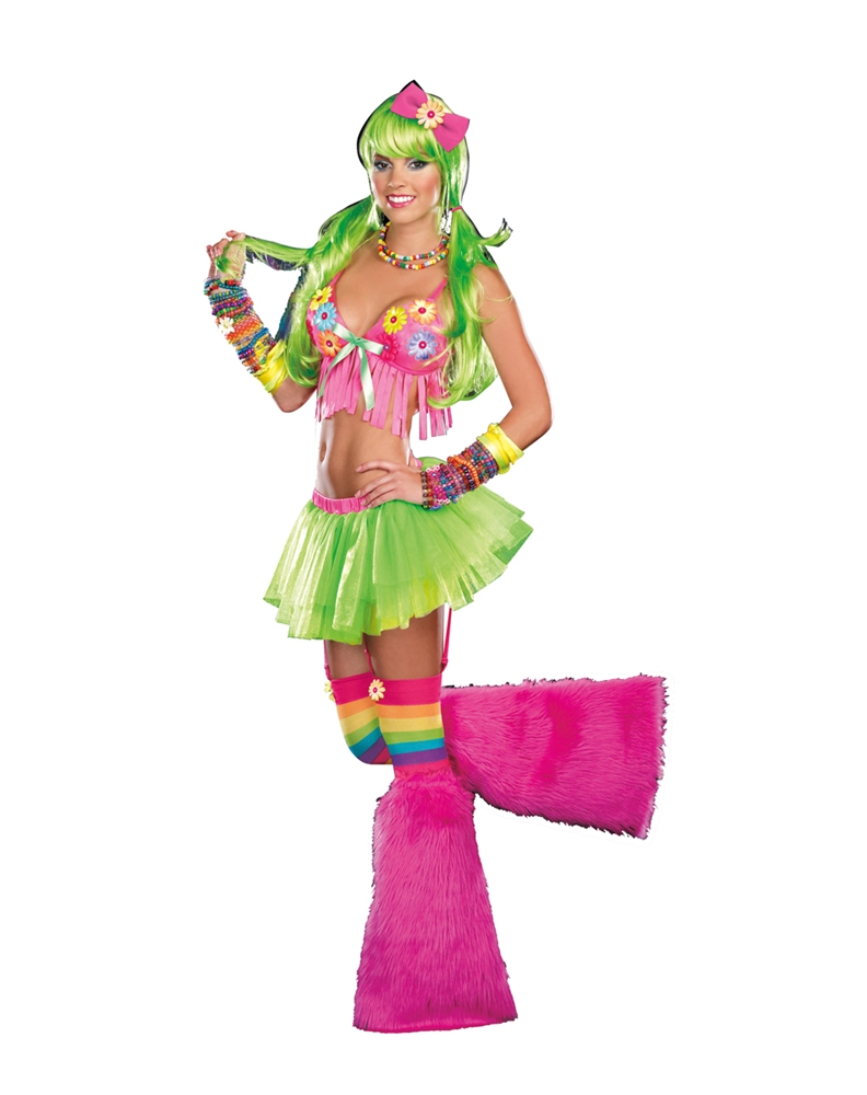 Light Up Dazed Daisy Adult Womens Costume