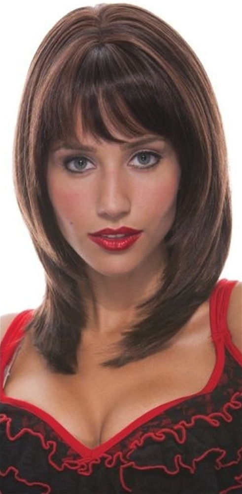 Brown Jasmine Adult Womens Wig