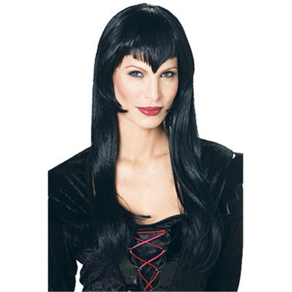 Vampire Black Adult Womens Wig