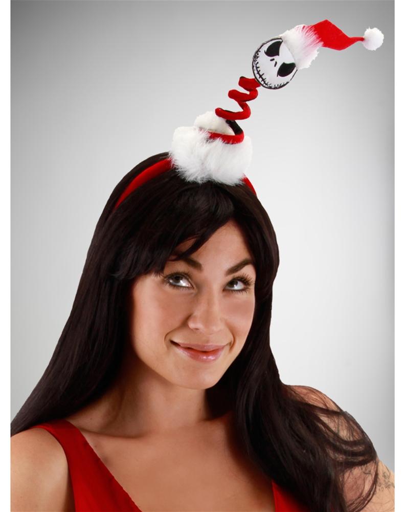 Mini Springy Santa Jack Headband by Elope