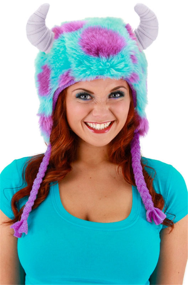 Monsters University Sulley Deluxe Hoodie Hat by Elope