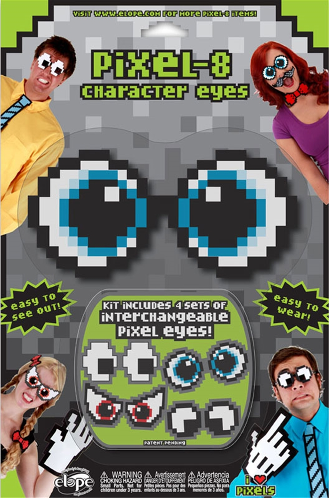 Pixel-8 Character Eyes Accessory Set